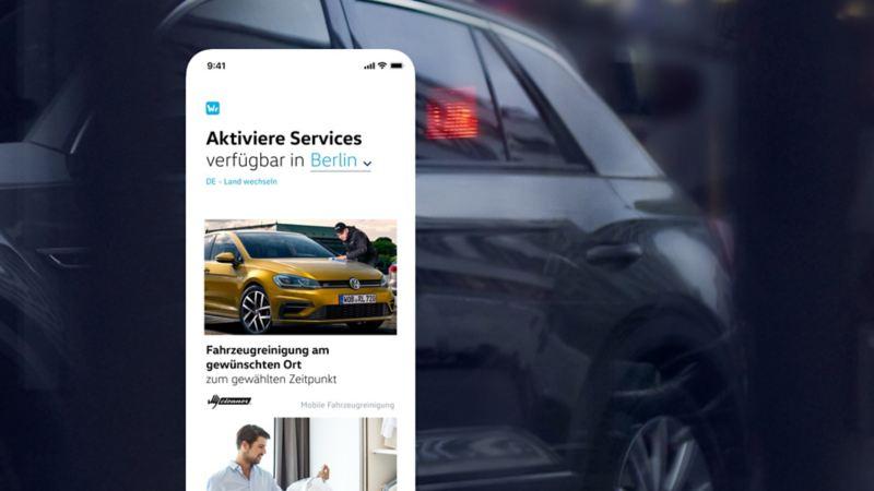 Übersichtsscreen im We Deliver Portal