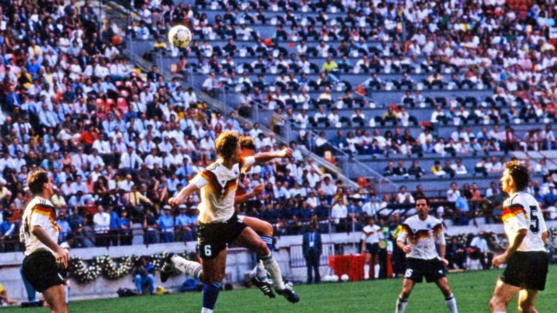 WM-Viertelfinale 1990 Deutschland gegen Tschechoslowakei