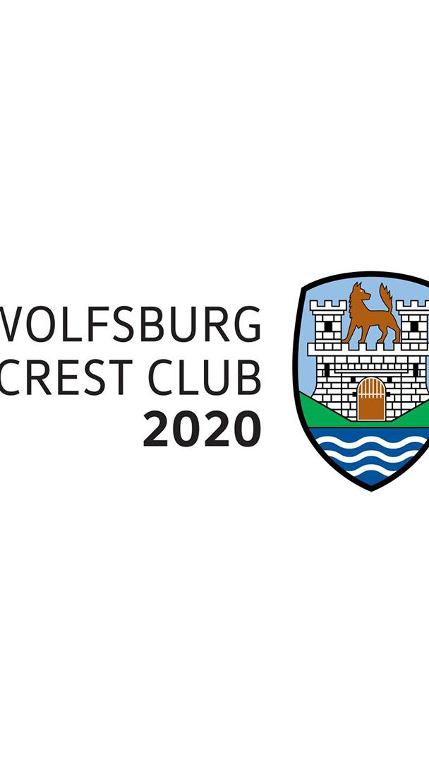 The logo of Wolfsburg Crest Club