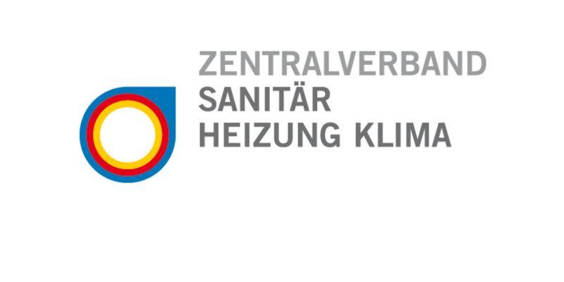 Das Logo des Zentralverbands Sanitär, Heizung, Klima.