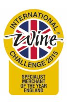 IWC 2015, Specialist merchant of the year England