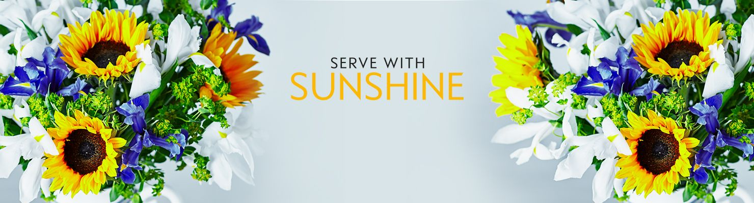Serve with Sunshine