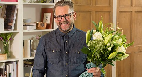 How to display your bouquet with Chris Wood