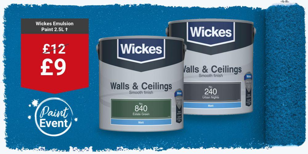 Wickes Emulsion Paint