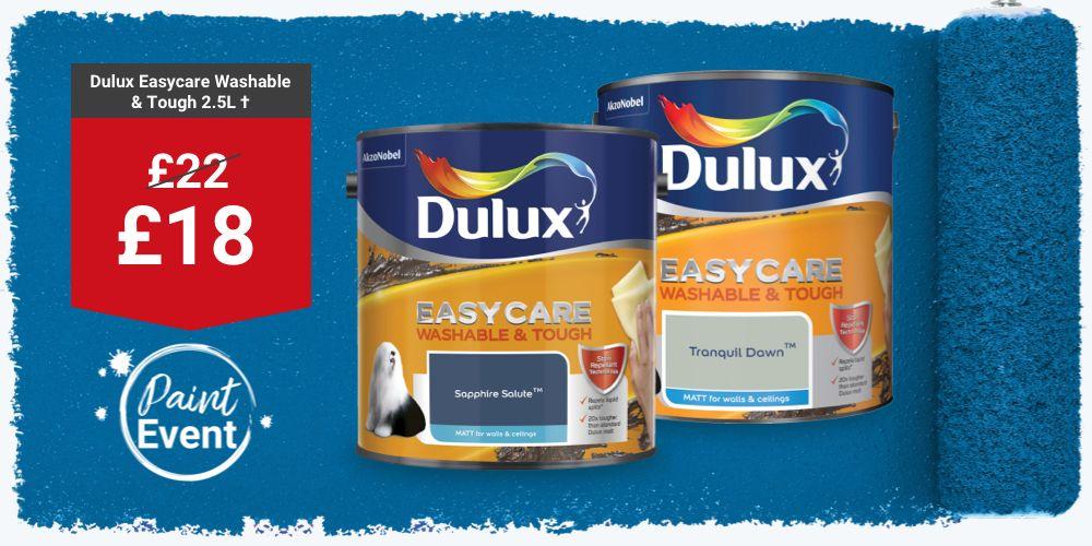 Dulux Easy Care Washable & Tough Emulsion Paint