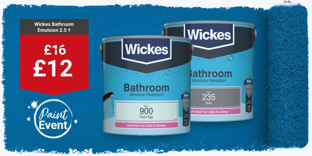 Wickes Bathroom Paint
