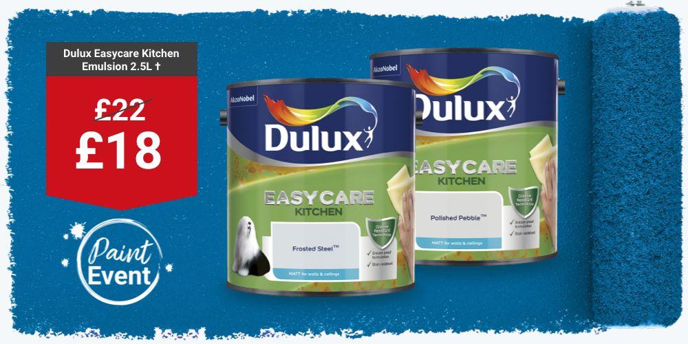 Dulux Easycare Kitchen Paint