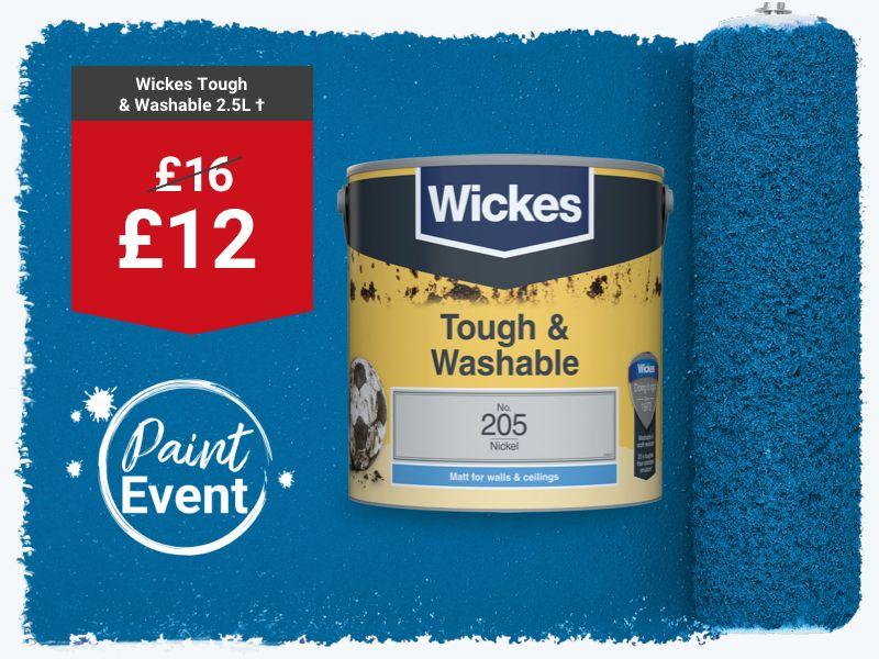 Wickes Tough & Washable Emulsion Paint