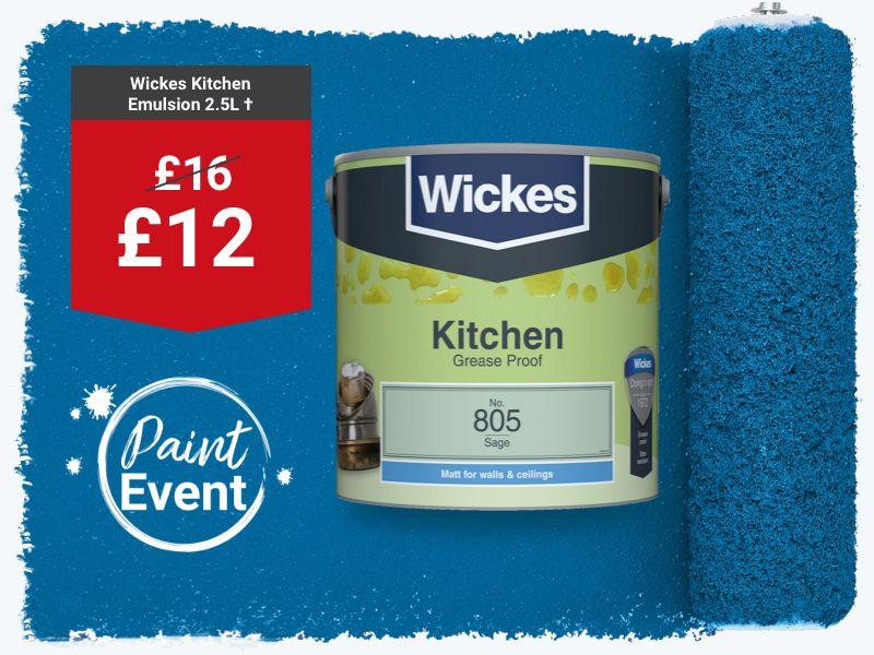 Wickes Kitchen Paint