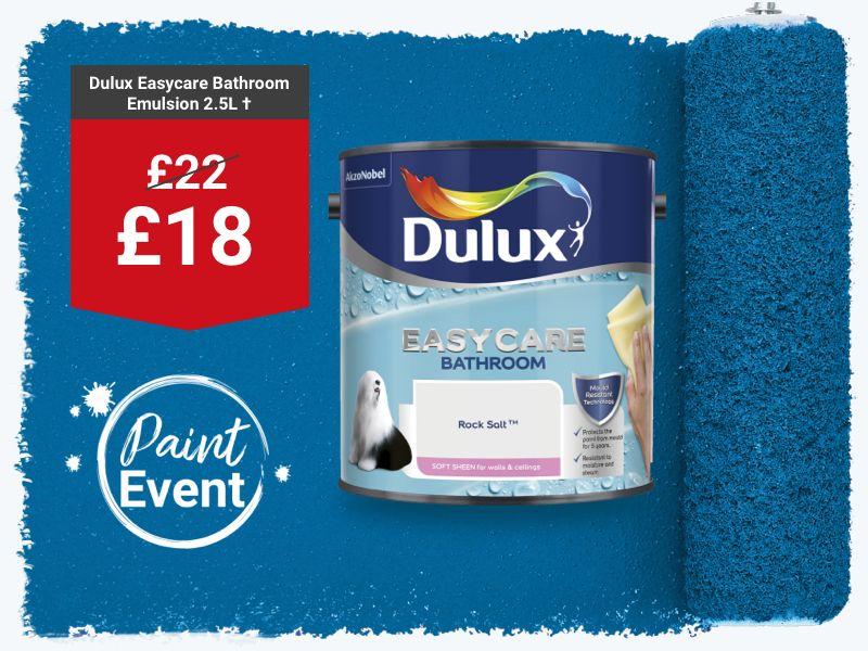 Dulux Easycare Bathroom Paint