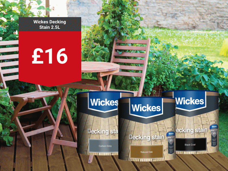 Wickes Decking Stain 2.5L