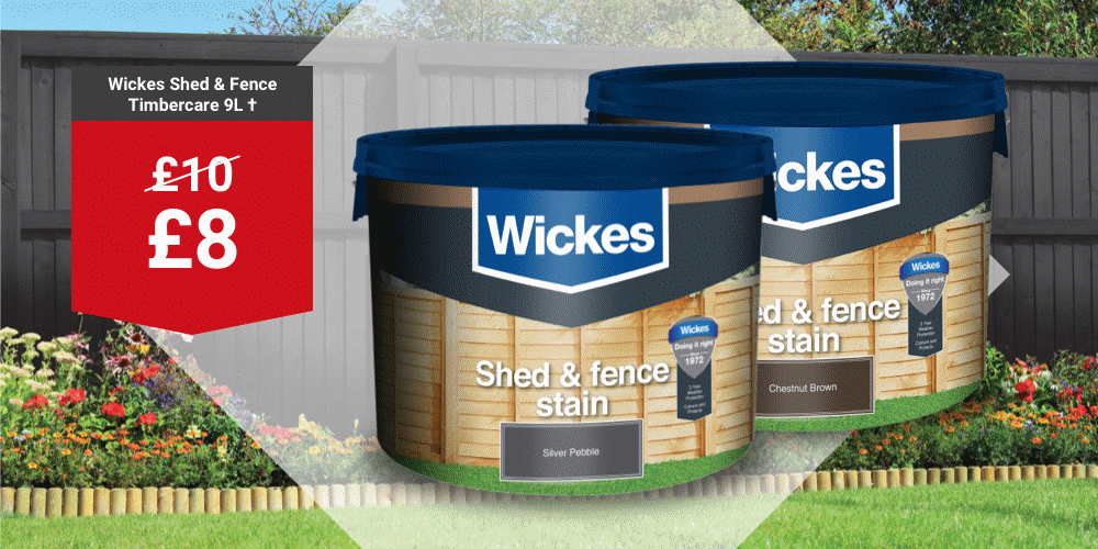 Wickes Shed & Fence 9L