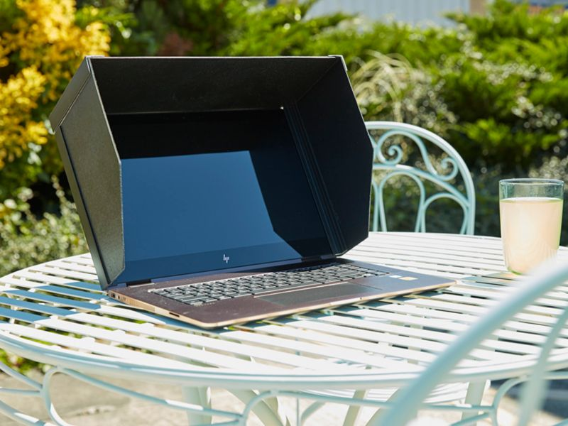 Build your own laptop hood