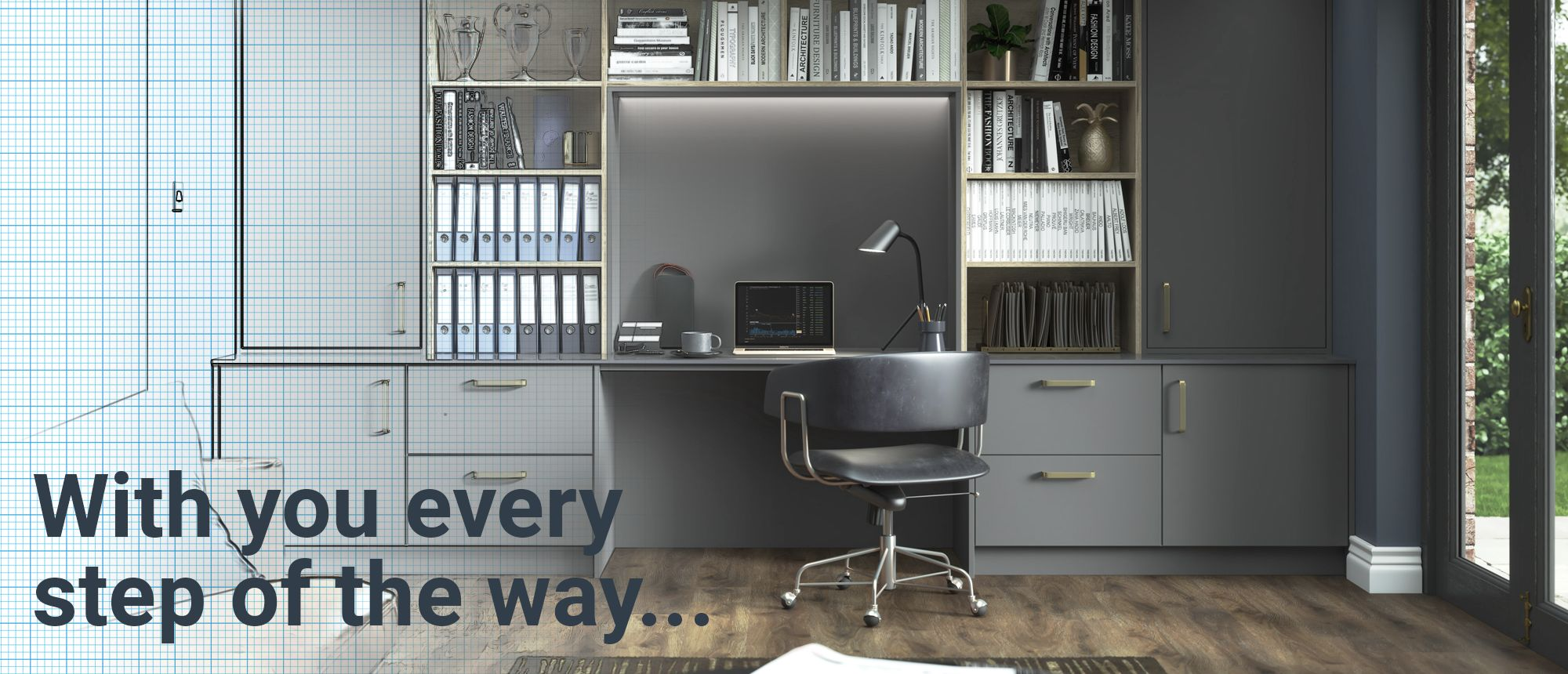 10 steps to your dream fitted home office