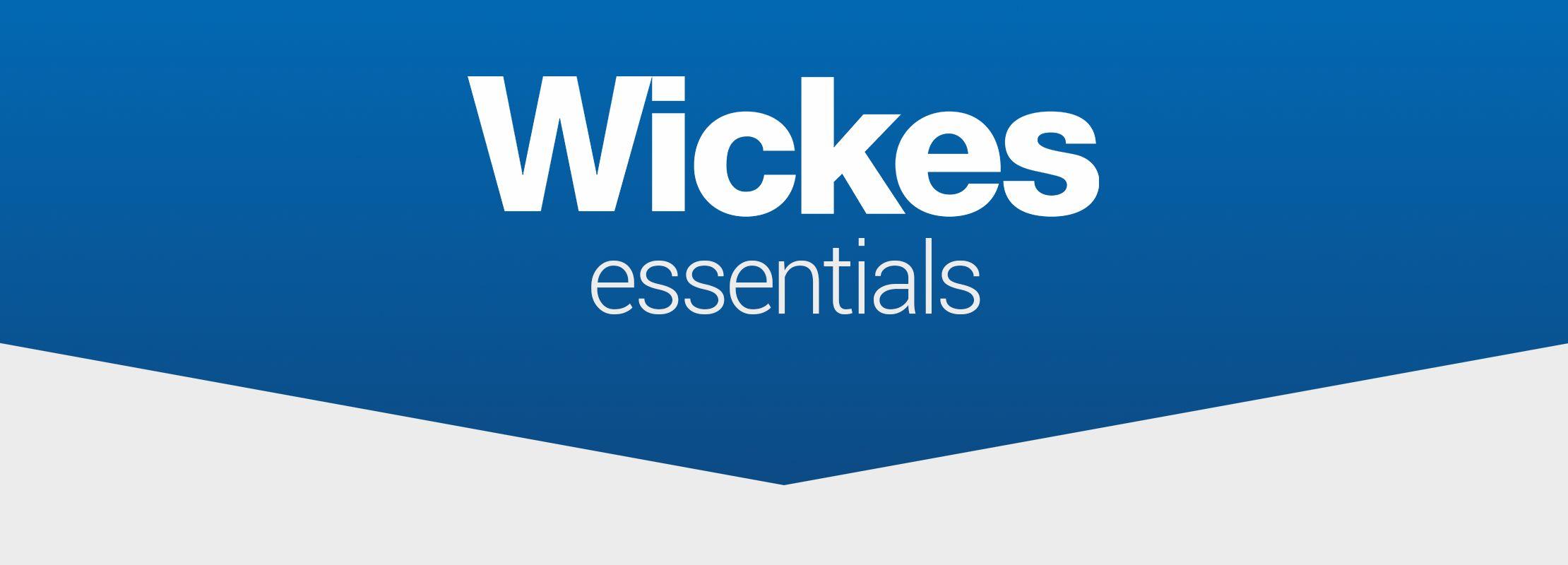 wickes essentials banner