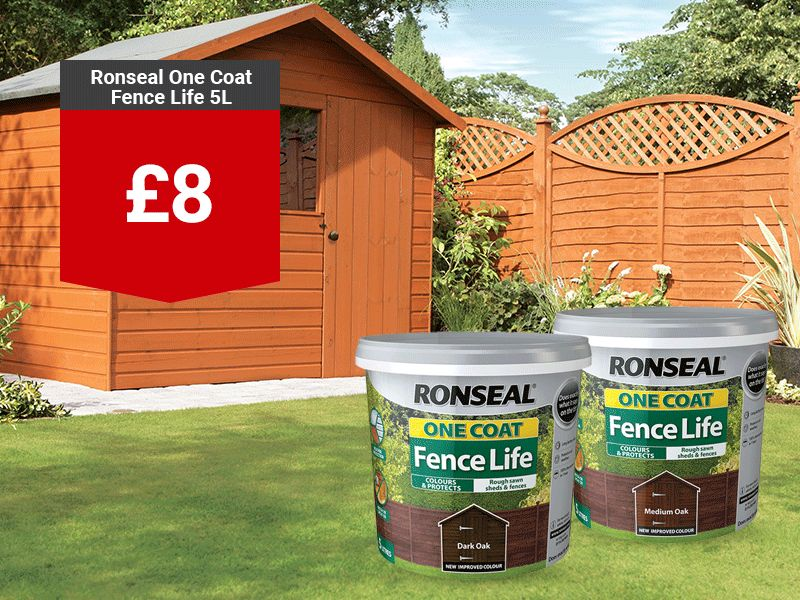 Ronseal Fence Life Plus