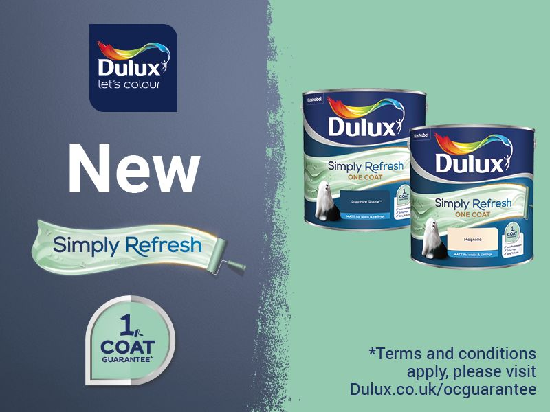 Dulux Simply Refresh One Coat