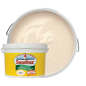 Sandtex Ultra Smooth Masonry Paint - Magnolia 10L