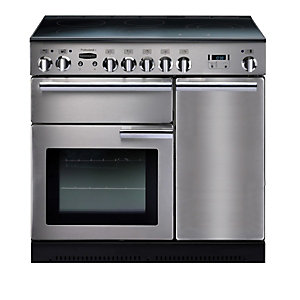 Rangemaster Professional+ 90cm Induction Range Cooker - Stainless Steel