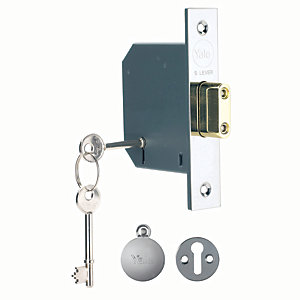 Yale P-M552-CH-65 5 Lever Deadlock - Chrome 64mm