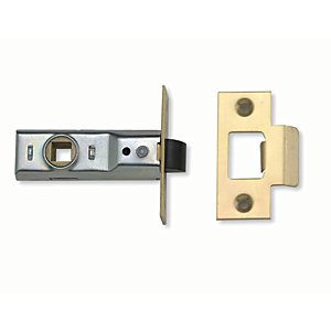 Yale P-M888-PB-76 Tubular Door Latch - Brass 76mm