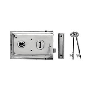 Yale P-334-CH Rim Door Lock - Chrome