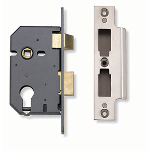 Yale B-3200-SSS-64 Sashcase Lock - Stainless Steel 2.5in