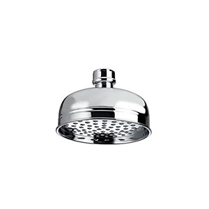Bristan Traditional Round Wall Mounted Shower Head & Arm