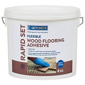Setcrete Flexible Wood Flooring Adhesive - 8kg