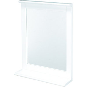 Wickes Rectangular Bathroom Mirror - 430 x 550mm