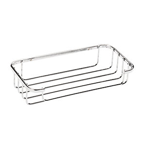 Croydex Rust Free Cosmetic Chrome Shower Basket - 250mm