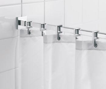 Shower Rails and Curtains