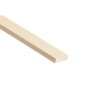 Wickes Pine Stripwood Moulding (PSE) - 10mm x 44mm x 2.4m