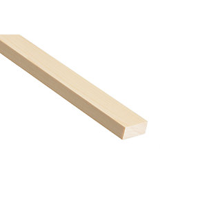 Wickes Pine Stripwood Moulding (PSE) - 10mm x 68mm x 2.4m