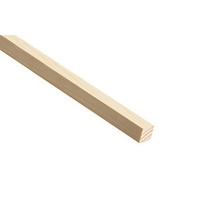 Wickes Pine Stripwood Moulding (PSE) - 15mm x 15mm x 2.4m