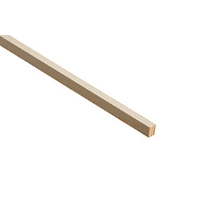 Wickes Pine Stripwood Moulding (PSE) - 15mm x 21mm x 2.4m