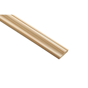 Wickes Pine 3 Rise Panel Moulding - 28mm x 9mm x 2.4m