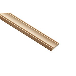 Wickes Pine Decorative Panel Moulding - 30mm x 8mm x 2.4m