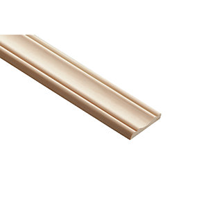 Wickes Pine Decorative Panel Moulding - 8mm x 45mm x 2.4m