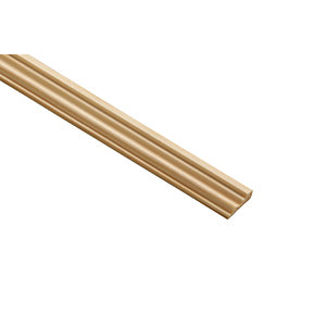 Wickes Pine Base Moulding - 21mm x 8mm x 2.4m