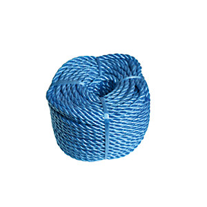 Wickes Blue 6mm Mulit-fuctional Polypropylene Rope Length 30m