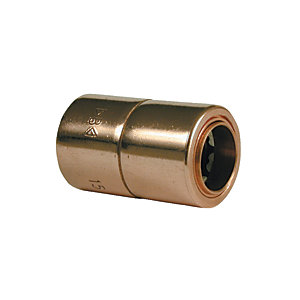 Primaflow Copper Push Fit Coupling - 10mm