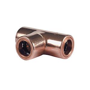 Primaflow Copper Pushfit Equal Tee - 10mm