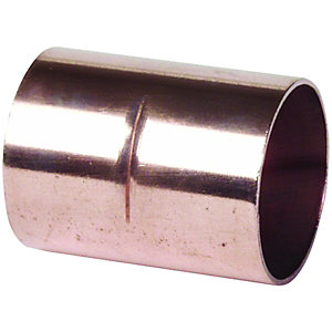 Primaflow Copper End Feed Straight Coupling - 15mm Pack Of 10