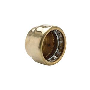 Primaflow Copper Pushfit Stop End Cap - 22mm