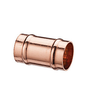 Wickes Solder Ring Slip Coupling - 22mm