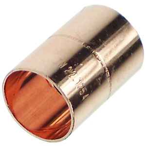 Primaflow Copper End Feed Straight Coupling - 15mm Pack Of 50