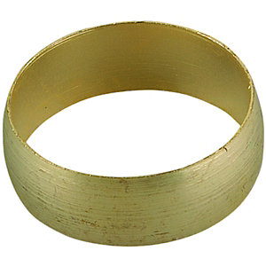Primaflow Brass Microbore Compression Olive Ring - 8mm Pack Of 5
