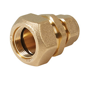 Primaflow Brass Lead To Copper Coupling - 1/2in X 15mm