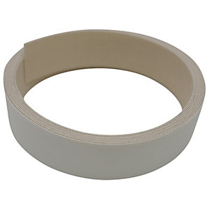Wickes Iron On Edging Tape White 22 x 2500mm